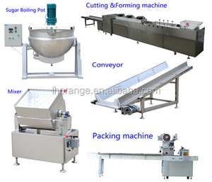 Wholesale Price Peanut Sugar Production Line/Peabut Candy Processing Equipment/Peanut Brittle Making Machine For Sale