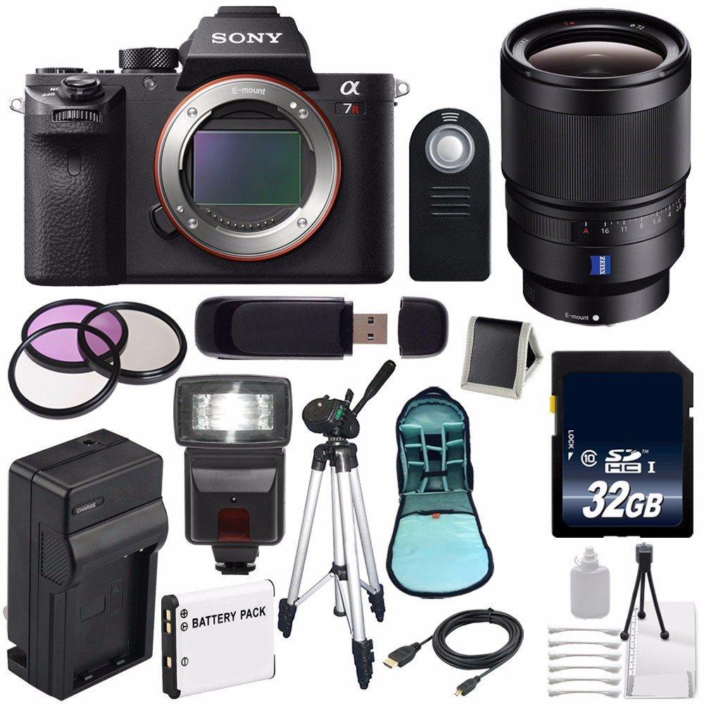 DavisMAX 72mm Wide Angle Lens for Sony Alpha SLT-A65 with Sony 50mm f// 1.4 ZA Lens Fibercloth Lens Bundle