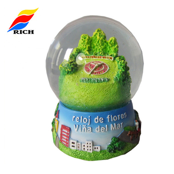 Collectable Create Chile Resin Souvenir Gifts Beautiful Snow Globes