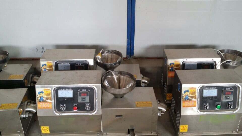 15kg-20kg per hour cold press oil press machine HJ-P40