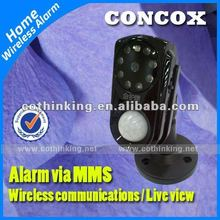 2012!! GSM wireless security alarm controled by SMS & GPRS command GM01