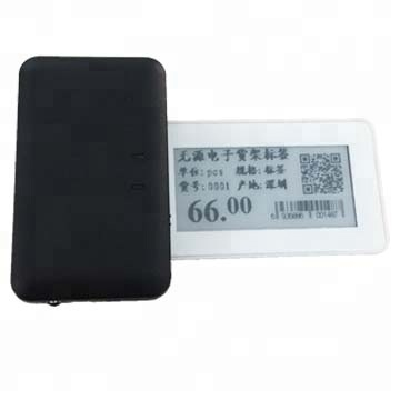 Bluetooth e-ink ESL electronic shelf label for retail store