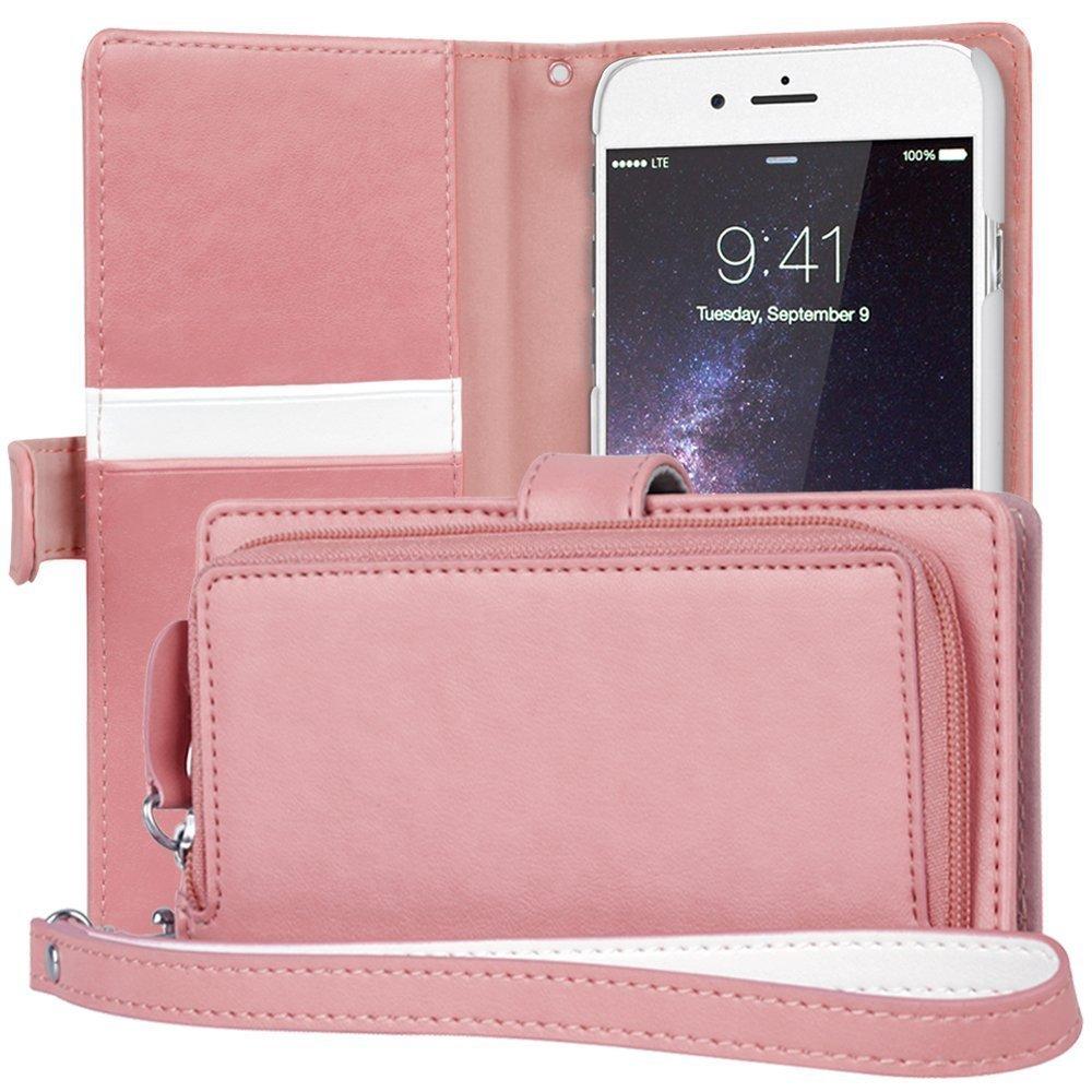 newest 2af14 df086 Buy iPhone 5S Clutch Case TORU [Pink] iPhone 5S Clutch Wallet Case ...