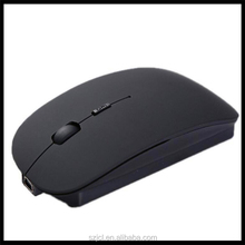 Simple Fresh Style Matt Silent Mouse Rechargeable Slim Wireless 3.0 Bluetooth Mouse With Plug And Play
