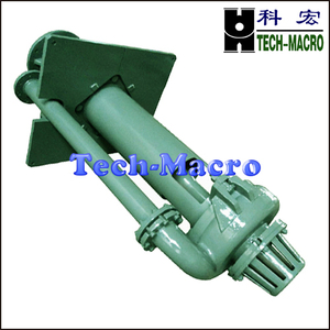 Vertical submersible acid sump mining slurry pump series SP(R) for pollution discharge