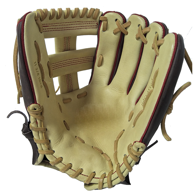New Product Real 1 MOQ Custom Youth Synthetic Cowhide Leather Japanese Baseball Glove Set