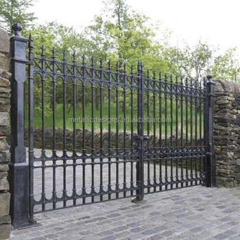 top sale aluminum gate designswing driveway gateswing