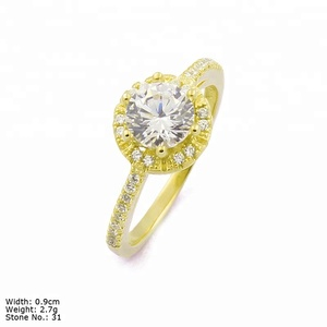 RZA0-349C diamond engagement ring beautiful woman jewelry