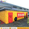 Portable inflatable fire engine training smoke simulator experience room