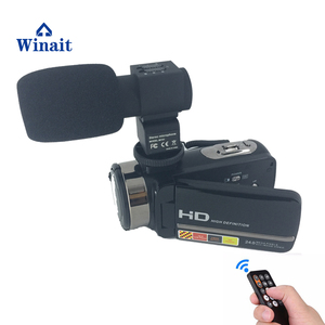 winait 24mp digital video camera with 3.0'' touch display and full hd 1080p night video digital camcorder
