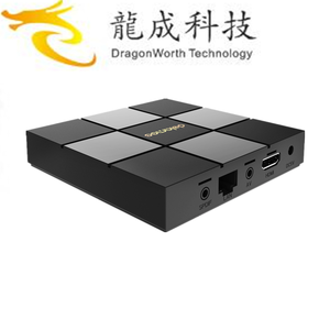 2019 Beautiful design DOLAMEE D6 S905X 1G 8G video player manufactured in China ott 6.0tv box