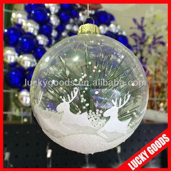 New Design Decorative Clear Plastic Christmas Balls Wholesale Buy