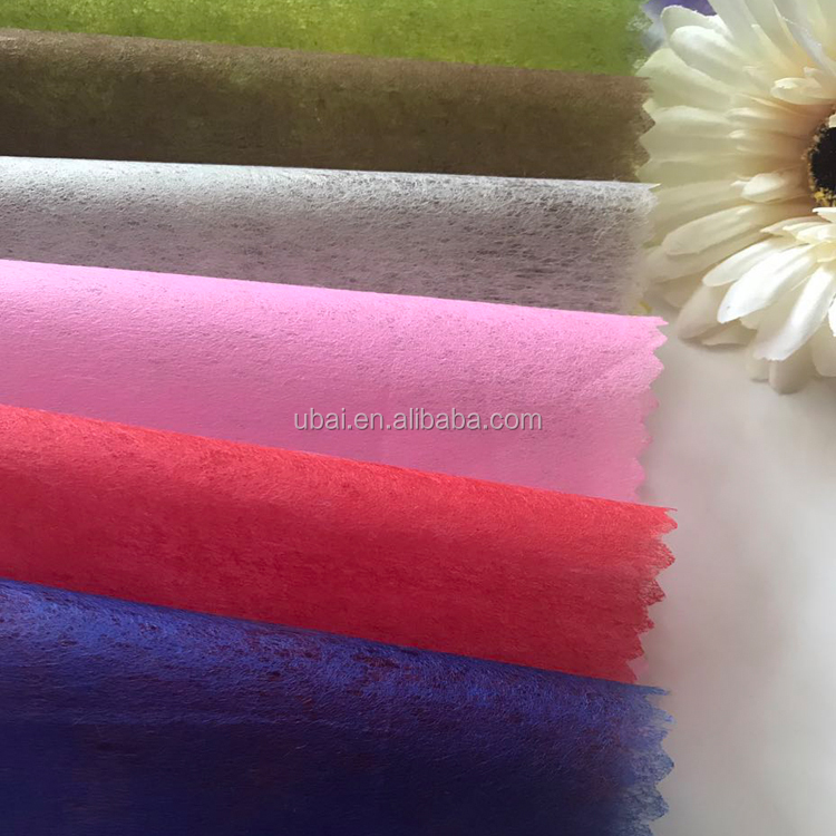 100% polyester non woven fusible interlining