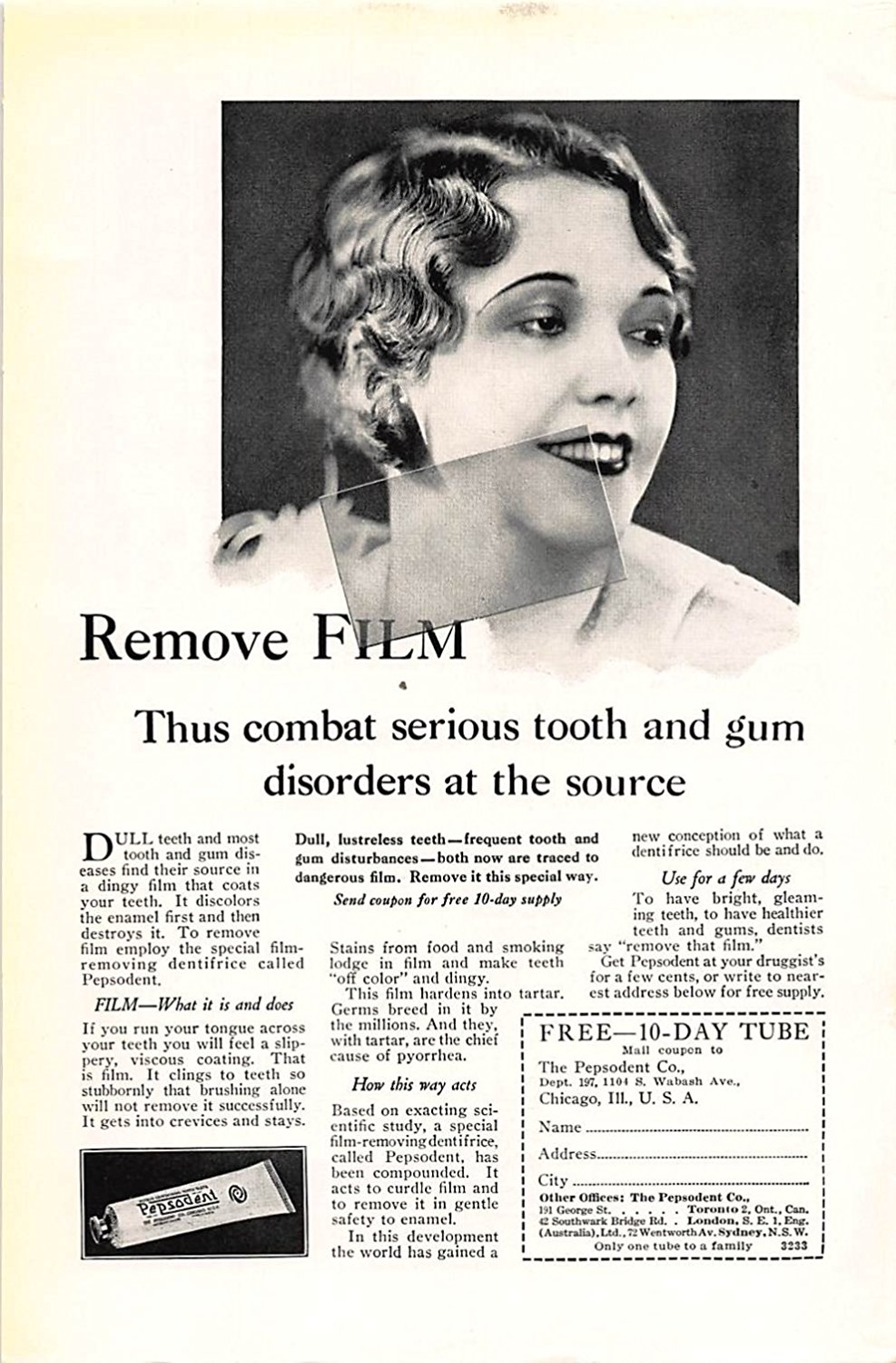 Cheap Pepsodent Brand Find Deals On Line At Alibabacom Twin Pack White 120gr Get Quotations Print Ad 1929 Remove Film