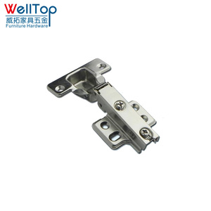 Iron furniture cabinet flag pole hinge