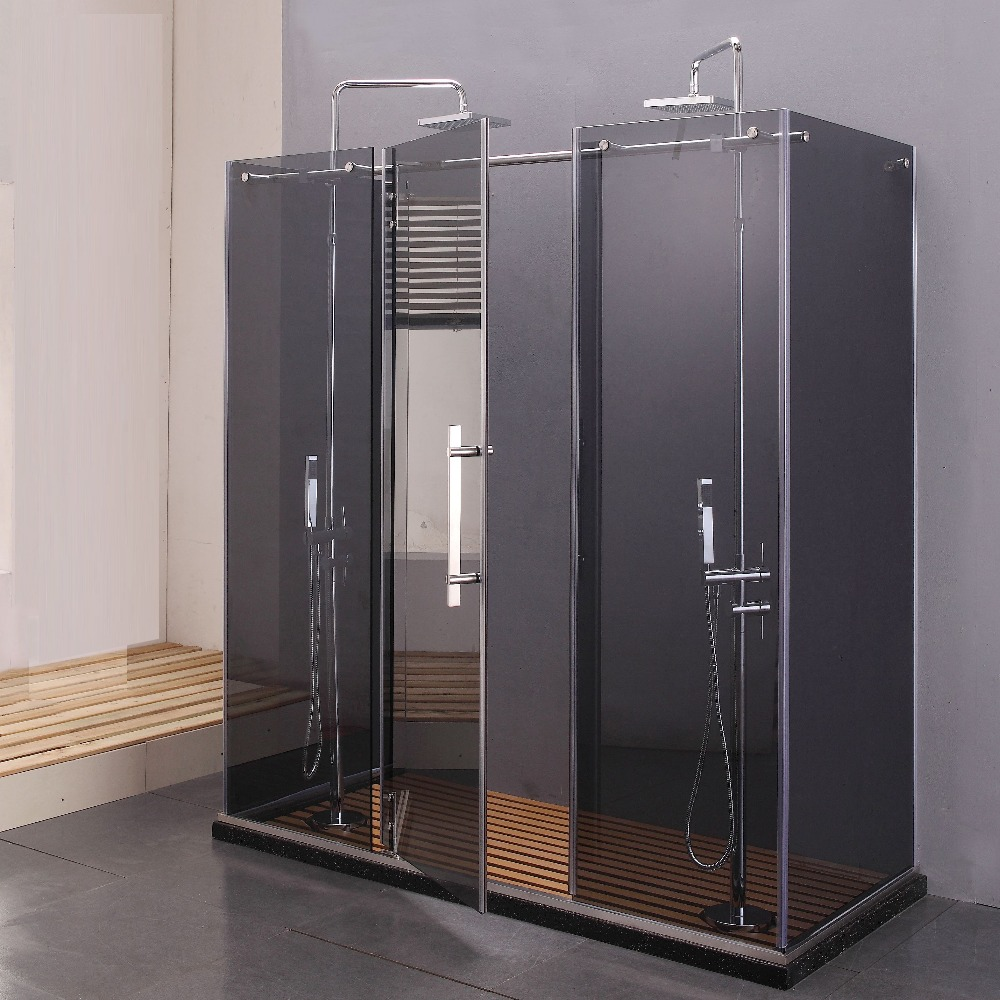2 Person Shower Cubicle Enclosed Shower Cabin China Shower Enclosure ...