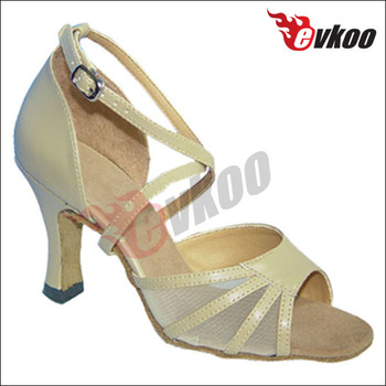 Heel Upper Leather Para Bailar Zapatos 7cm Hombre Material Salsa Pu wqpg1x
