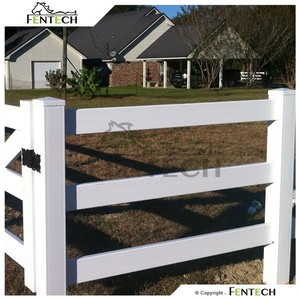 Uv Proof Cheap Cattle Fencing Panels , Horse Rail Fence