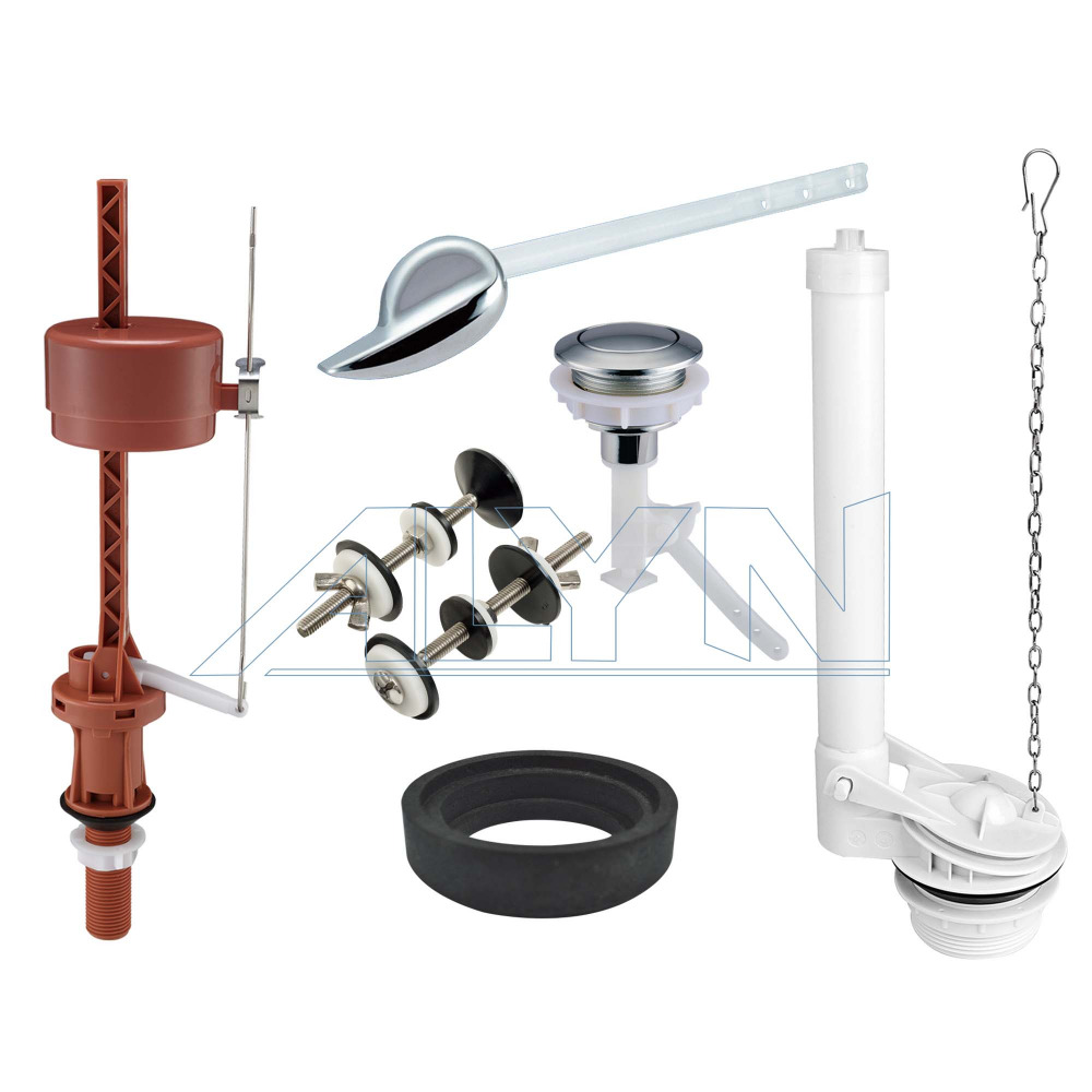 Western sanitary ware cistern dual flush system accessories for tank of toilet