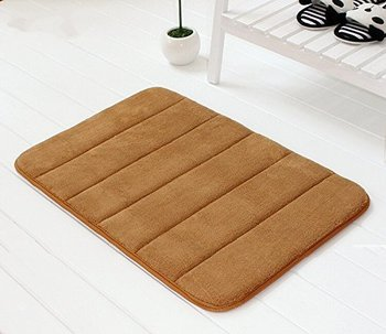 Cleaning Bath Mat With Rubber Backing