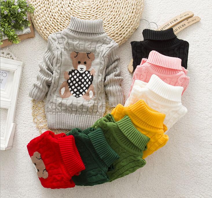 2aaf53c7516a 2014 new winter autumn infant baby girls Cartoon sweater boys ...