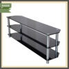 clear acrylic stainless steel and glass tv stand with wheels tv satnd