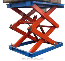 Light Duty Fixed / Stationary Construction Hydraulic Scissor Lift Platform/Table top