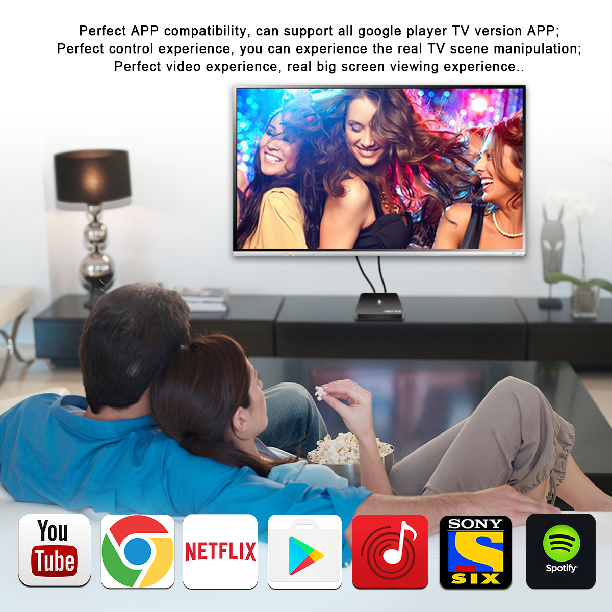 A95X PRO S905W 2g 16g con voice air mouse media player android 7.1 tv box iptv abbonamento