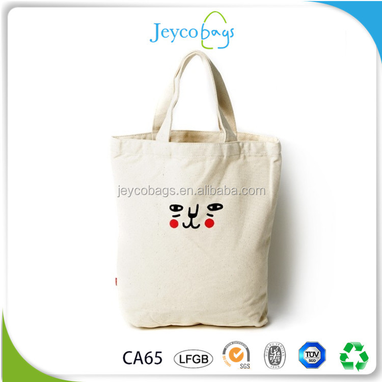 JEYCO BAGS Alibaba China custom Korea style cotton net canvas laundry bag with printing
