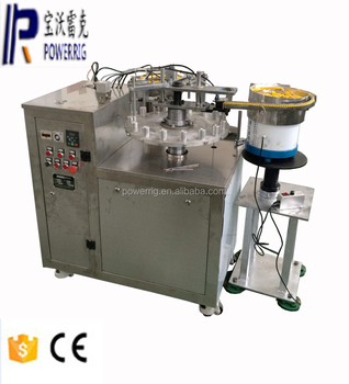 Powerrig machinery high quality semi automatic nail gel filling capping machine with CE certification