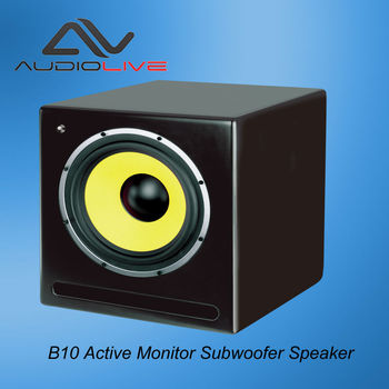 Manufacturer Supply B10 professional indoor powered Subwoofer Speaker