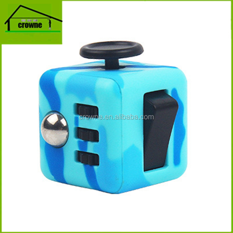 Hot selling folding magic cube toy cube puzzle for release stress toy