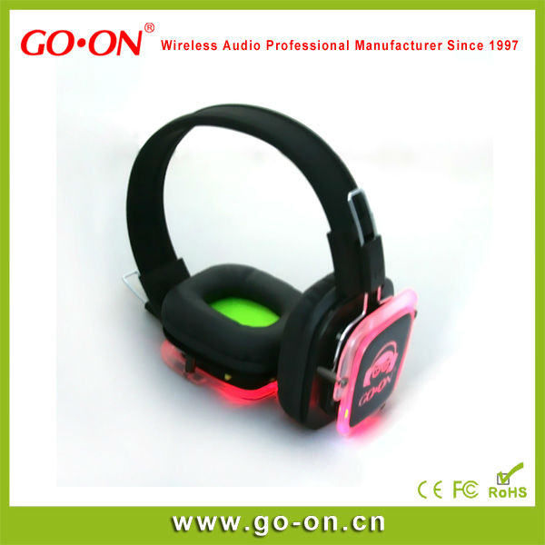 Rf-309 Wireless Silent Party Headphone For Club