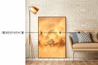 Room decor embellishment art silk printing wall art fabric painting designs images