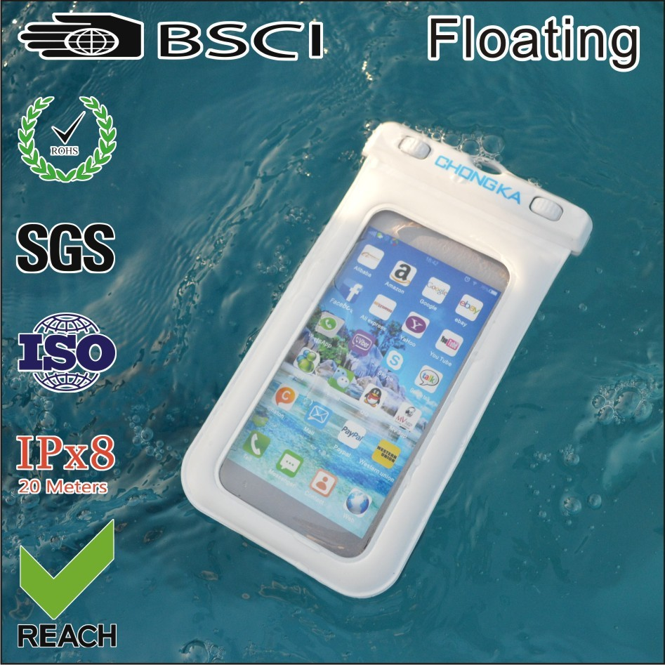 smartphone accessory pvc waterproof bag case cell phone for iphone 5/5s/6/7