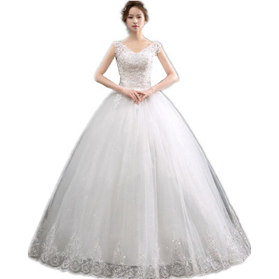 Hq189 Sexy V Neck Simple Wedding Dress Spaghetti Strap Lace Up Lace Cheap Wedding Dress Ball Gown Off White Buy At The Price Of 66 80 In Alibaba Com Imall Com