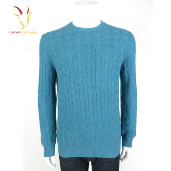 Cable Crew Neck Men Woolen Pullover Sweater Design Buy Men Wool