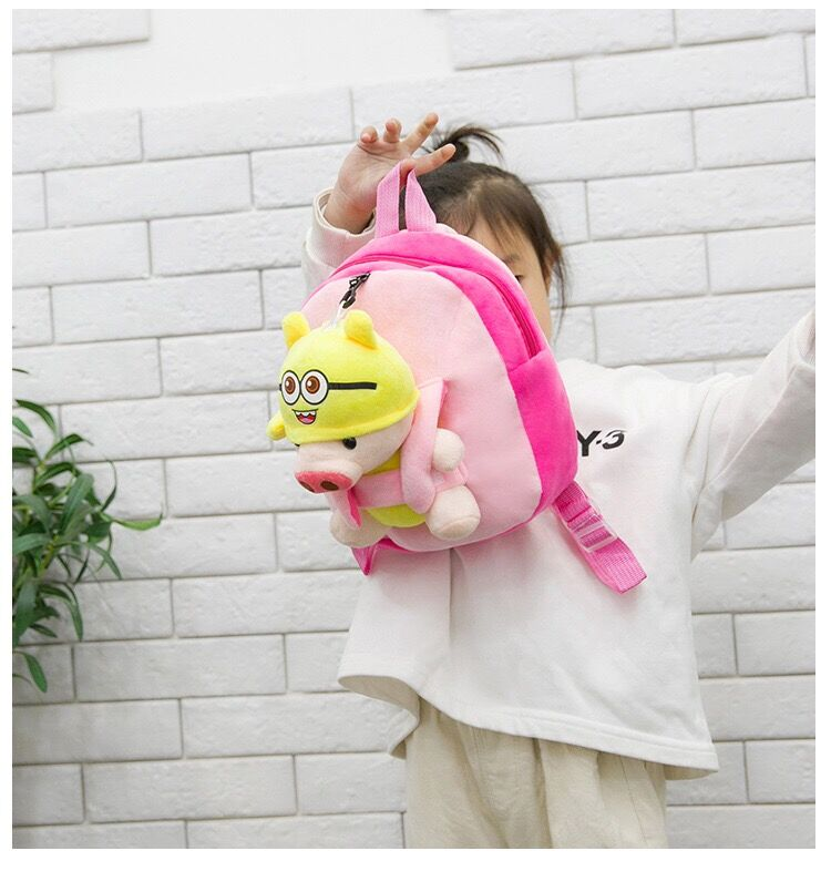 Cute Plush Teddy Bear Backpack School Bag For Kids