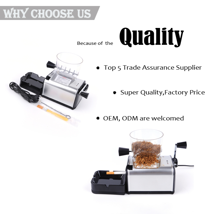 JL-002B Yiwu Jiju Tobacco Rolling Paper Making Cigarette Filter Tube Machine
