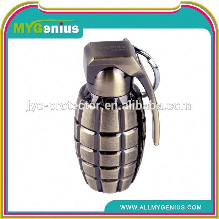 promotion lighter with gas ,H0T041 metal lighter covers , match shape lighter with keychain