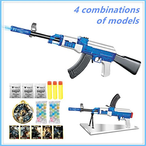 Toy, Fun, Game, AK47 Elite Soft Bullet live CS plastic ABS Toy gun Sniper Rifle Capable Of Firing Bullets Water Soft Crystal Paintball toys gun, Children, Kids, Play