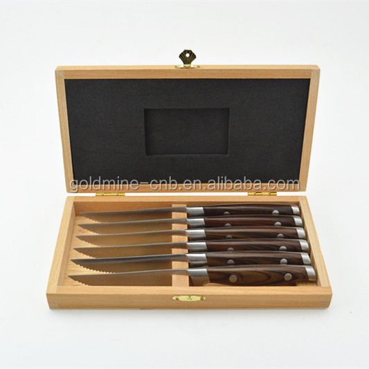 High quality steak knife set dinnerware knife