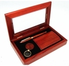 /product-detail/wholesale-custom-made-in-china-glass-lid-wood-key-chain-pen-set-gift-box-60526487729.html