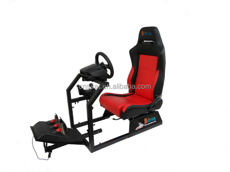 Logitech G25/G27 with gear shifter holder racing car simulator/driving simulator