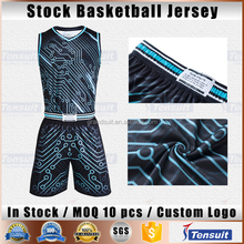 Used basketball uniforms new design basketball jersey fashion style basketball shirt good quality sport wear youth wear