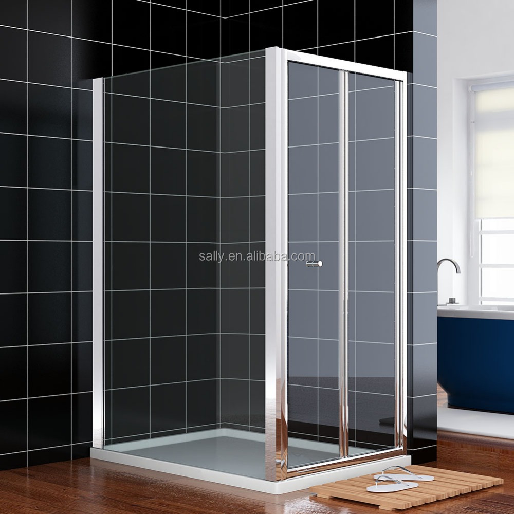 B1202f07116 800mm Bi Fold Shower Enclosure Door 6mm Thick Glass