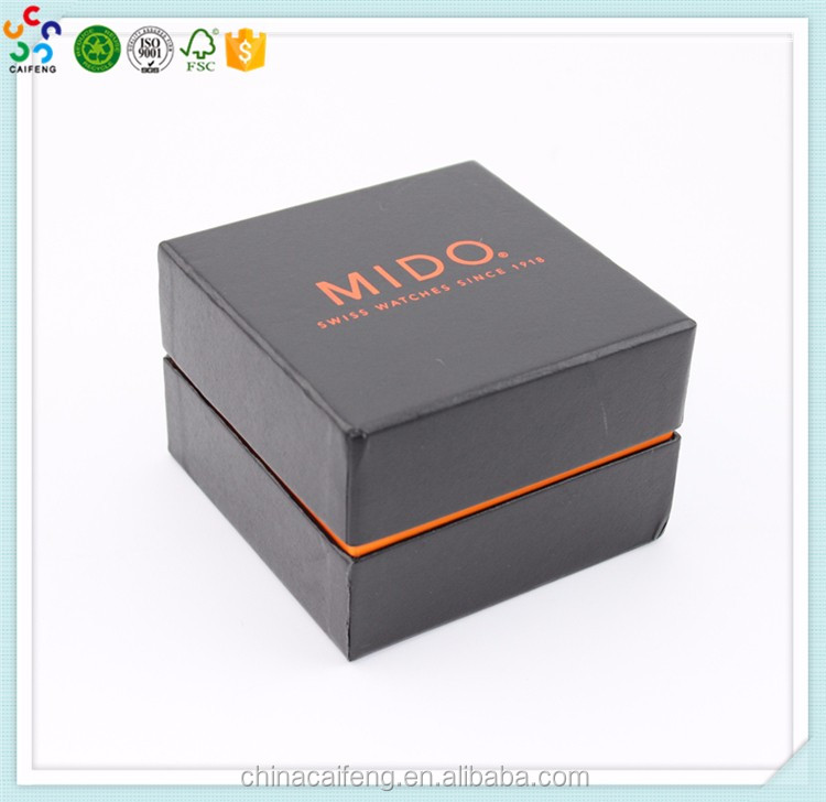 Luxury Paper Watch Box Custom Logo Watch packaging Box