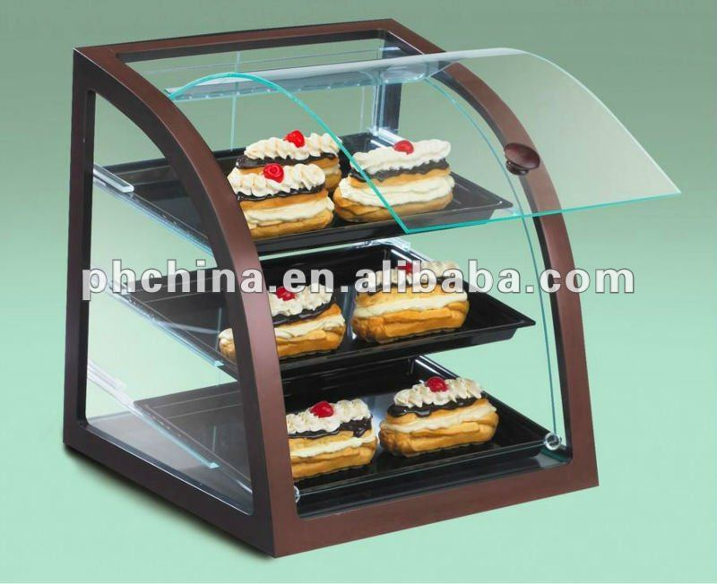 true curved countertops prima case glass bakery equipment display tcgd supply pastry countertop dry