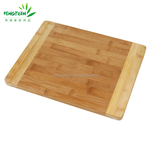 Kitchen tools unfinished bamboo blank cutting board