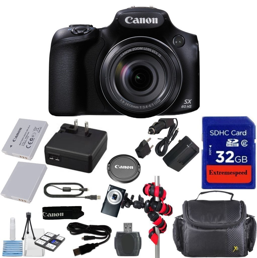 Buy Canon Powershot SX60 16 1MP Digital Camera 65x Optical